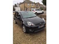 Ford Fiesta Zetec S 1.6 petrol chequered flag edition