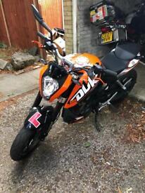 Ktm DuKe 2016 125cc