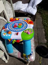 Childs entertainment table