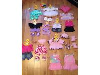 Build a Bear Workshop Girls Clothes Bundle (10+ outfits)