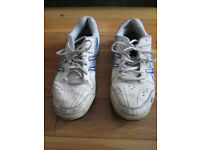 Asics Gel Tennis Shoes size 9 UK