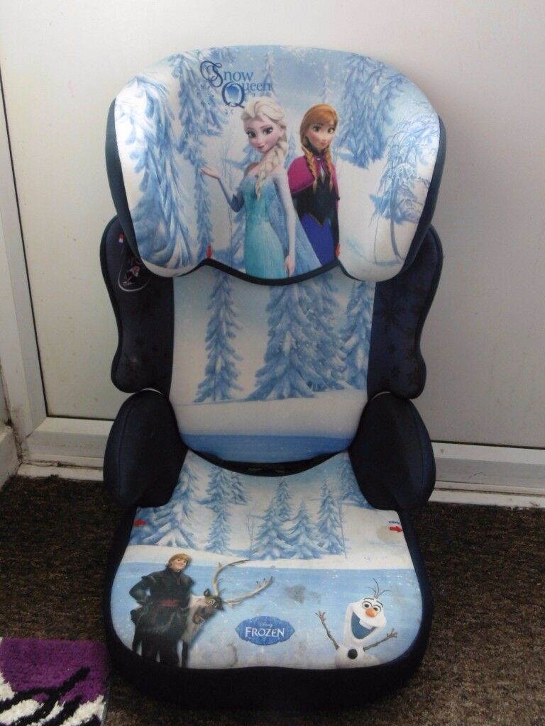Anna Elsa Frozen Car Seat Booster Child Childs Childrens