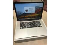 MacBook Pro 15 inch Retina 2014/2015, 2.2 GHz, 16 GB, 256GB storage + 3 months warranty