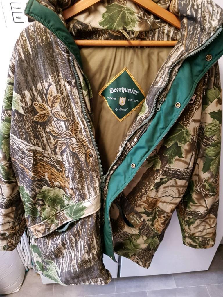 Deer hunter jacket large