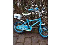 Halfords kids Apollo Police Bike
