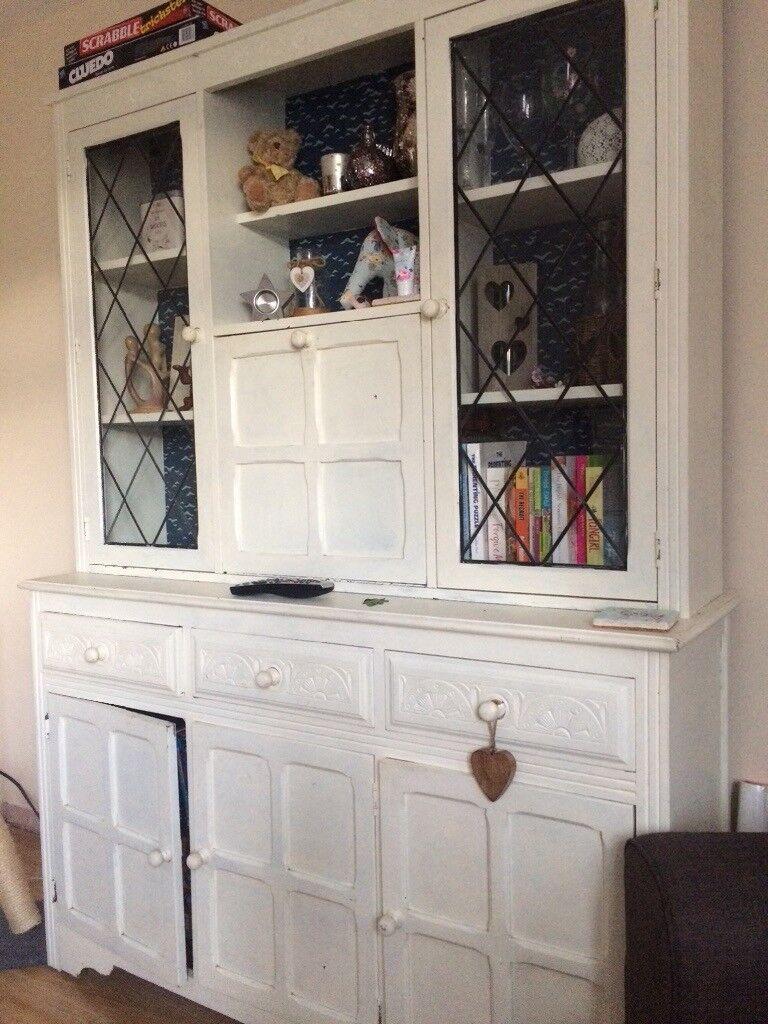 vintage shabby chic old charm dresser | in olney, buckinghamshire