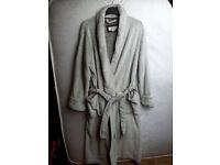 Mens & Ladies Collar Bathrobe Dressing Gown