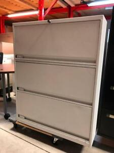3 Drawer Lateral Filing Cabinets - $99
