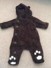 Baby snowsuit upto 3 monthd