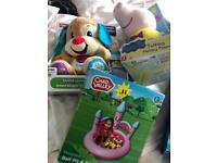 Mixed toys new in boxes