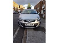 Vauxhall Corsa SXI 1.4 Silver 25000 LOW milleage, 13 PLATE. 5 doors Manual