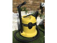 Karcher WD2 wet/dry vacuum for use or spares -USED