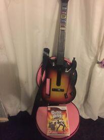 Guitar hero and disk