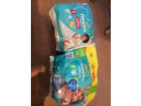Size 5 & 6 nappies