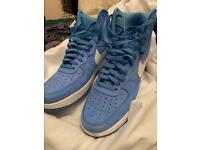 Nike Air Force 1 Blue Hi Tops 10