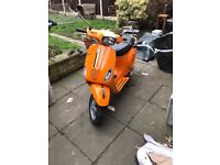 Here is my beautiful vespa she's in perfect condition starts first time every time