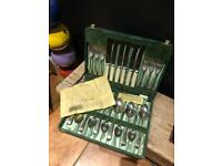 vintage viners boxed cutlery set can post