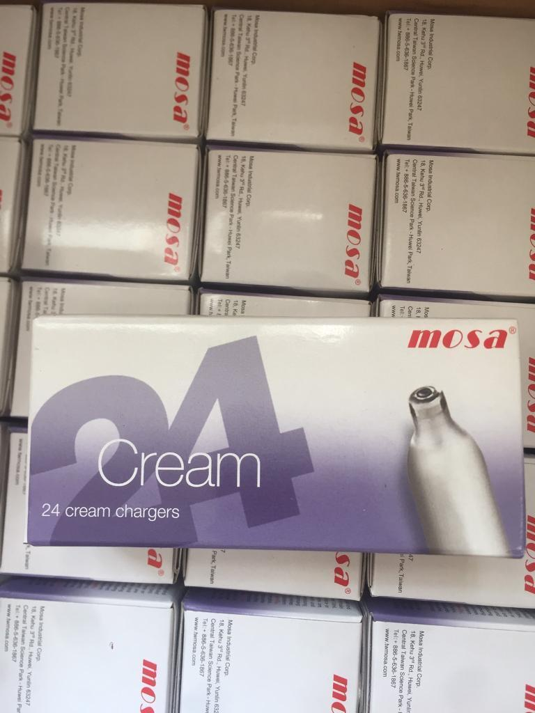 Cream chargers mosa