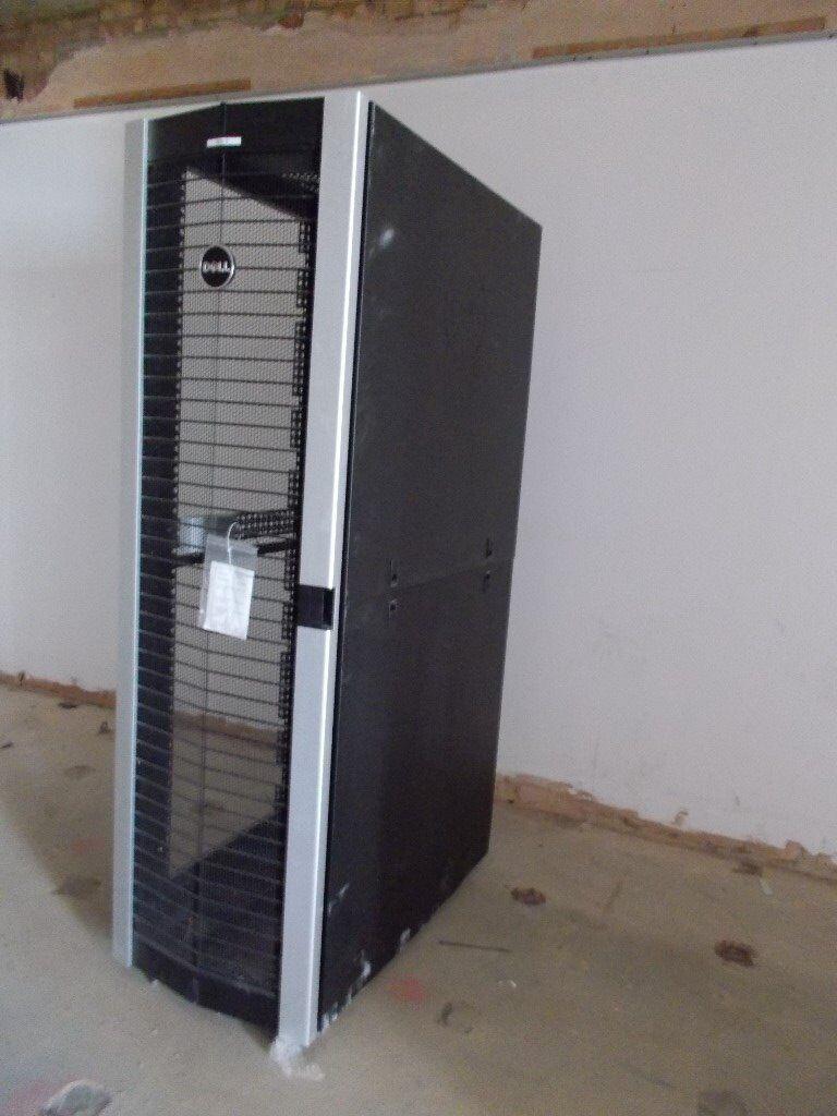 Dell PowerEdge 4220 - 42U Server Rack Cabinet Enclosure Back Front ...