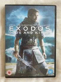 EXODUS GODS AND KINGS DVD