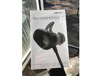 Bose Soundsport Wireless Headphones - Black - NEW, Sealed 2 yr Warranty