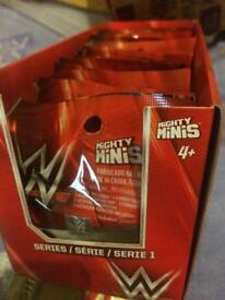 WWE mighty minis wrestling figures