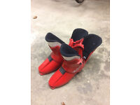 NS 725 Nordica Ski Boots (Size 10) Red