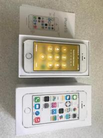 iPhone 5s 16gb White and Silver Boxed with accessories