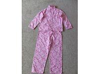 7-8 years girls jersey cotton pyjama RRP £12
