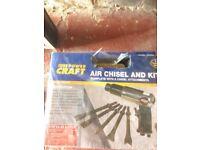 Power Craft pneumatic chisel