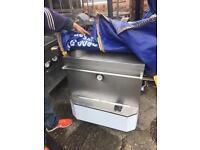 Tandoor cooker fryer grill griddle double sink catering equipment