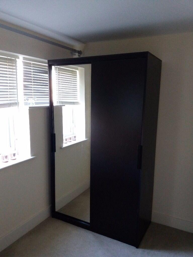 ikea morvik wardrobe in aylesbury buckinghamshire gumtree. Black Bedroom Furniture Sets. Home Design Ideas