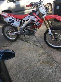 honda crf 250r 2007