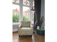 Pink & Green Zig Zag SOFA WORKSHOP Retro Inspired Chair Armchair