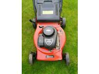 Sovereign petrol self propelled lawnmower