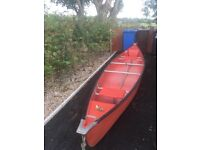 Kayak with oars for sale