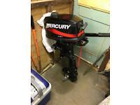 Mercury 5hp outboard engine