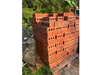 Red facing bricks