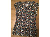 Next size 8 mixed colour collared T-shirt
