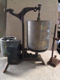 Kymograph a vintage Scottish Scientific instrument