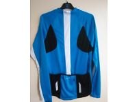 Brand new Men's cycling top blue