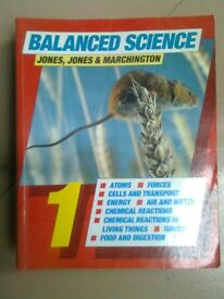 Science books, collection of 7, including biology, physics and chemistry, excellent condition