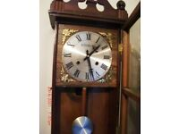 31 day chiming wall clock in very good condition,