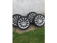 17 inch alloys wheels Audi, vw , Toyota and more