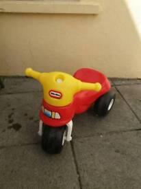 little tikes mini cycle ride on