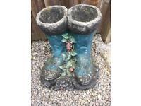 Wellington boot planter, £10 Ono