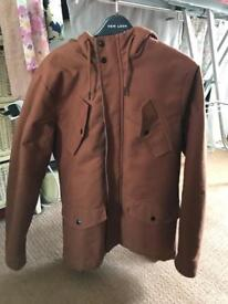 River island duffle coat men's SMALL/ MEDIUM