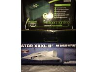 XXXL dominator 6 inch grow light and maxi bright dual spec pro compact ballast 600w