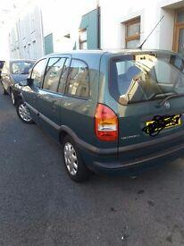 Vauxhall zafira 1.6 £595