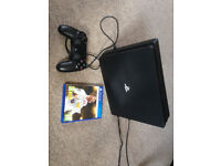 PS 4 with FIFA 2018 and controller. Like New.